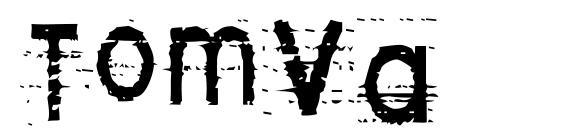 Шрифт Tomva