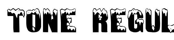 Tone Regular font, free Tone Regular font, preview Tone Regular font