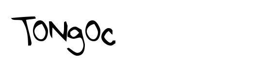Шрифт Tongoc