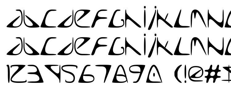 глифы шрифта Too Late, символы шрифта Too Late, символьная карта шрифта Too Late, предварительный просмотр шрифта Too Late, алфавит шрифта Too Late, шрифт Too Late