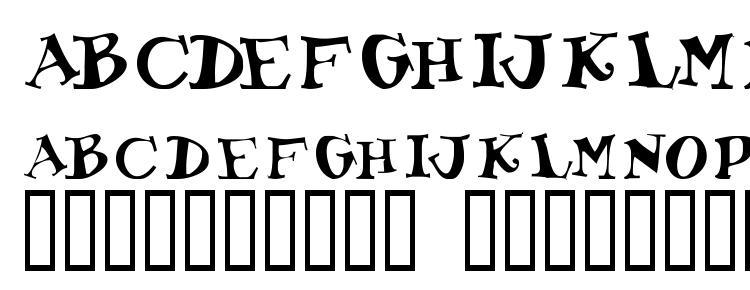 глифы шрифта Toocoolscapsssk, символы шрифта Toocoolscapsssk, символьная карта шрифта Toocoolscapsssk, предварительный просмотр шрифта Toocoolscapsssk, алфавит шрифта Toocoolscapsssk, шрифт Toocoolscapsssk