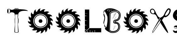 ToolboxStd Font