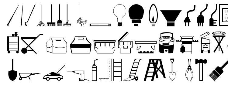 глифы шрифта Toolso, символы шрифта Toolso, символьная карта шрифта Toolso, предварительный просмотр шрифта Toolso, алфавит шрифта Toolso, шрифт Toolso