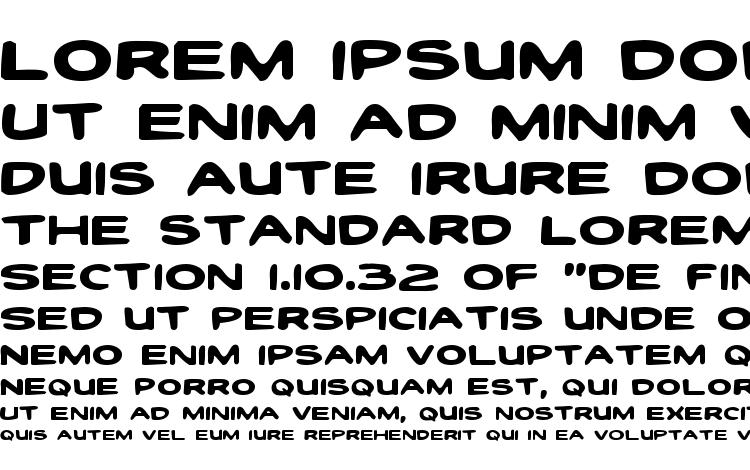 specimens Toon Town Industrial Exp font, sample Toon Town Industrial Exp font, an example of writing Toon Town Industrial Exp font, review Toon Town Industrial Exp font, preview Toon Town Industrial Exp font, Toon Town Industrial Exp font