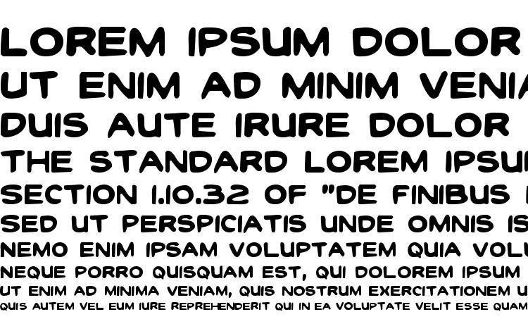 specimens Toon Town Industrial Regular font, sample Toon Town Industrial Regular font, an example of writing Toon Town Industrial Regular font, review Toon Town Industrial Regular font, preview Toon Town Industrial Regular font, Toon Town Industrial Regular font