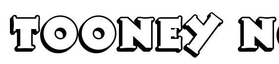 шрифт Tooney Noodle NF, бесплатный шрифт Tooney Noodle NF, предварительный просмотр шрифта Tooney Noodle NF