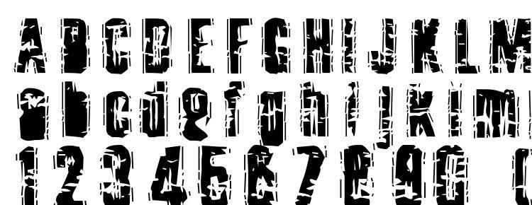 глифы шрифта Toota, символы шрифта Toota, символьная карта шрифта Toota, предварительный просмотр шрифта Toota, алфавит шрифта Toota, шрифт Toota