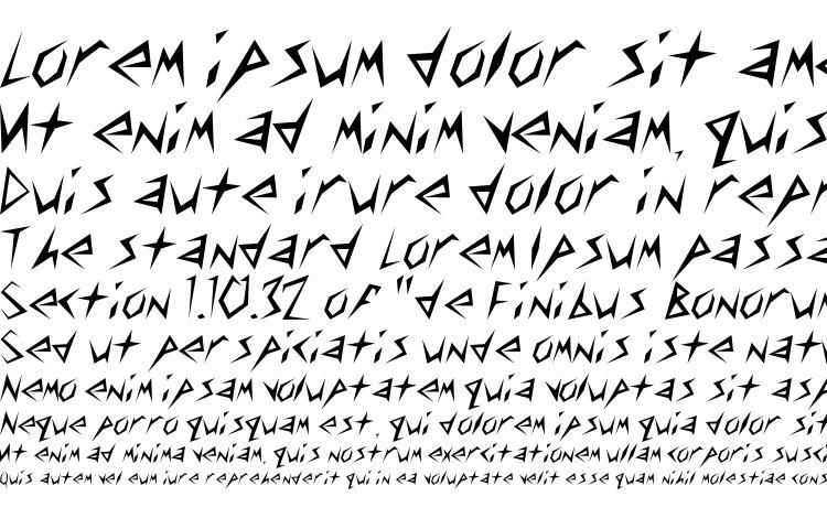specimens Toothpix SSi font, sample Toothpix SSi font, an example of writing Toothpix SSi font, review Toothpix SSi font, preview Toothpix SSi font, Toothpix SSi font
