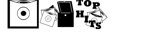 Шрифт Top 40 JL