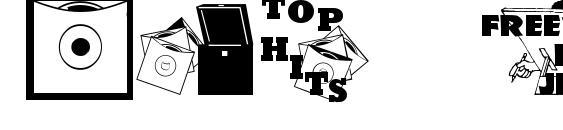 Шрифт Top 40