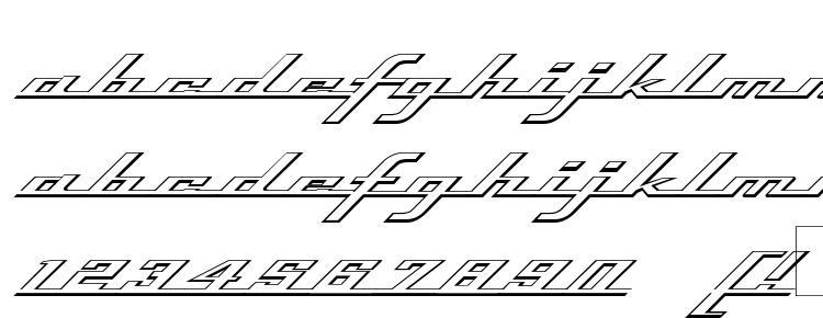 glyphs Top Speed Outline font, сharacters Top Speed Outline font, symbols Top Speed Outline font, character map Top Speed Outline font, preview Top Speed Outline font, abc Top Speed Outline font, Top Speed Outline font