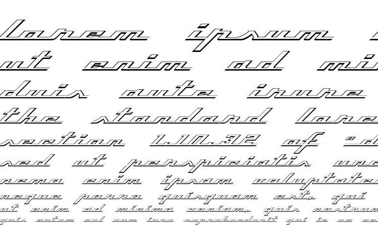 specimens Top Speed Outline font, sample Top Speed Outline font, an example of writing Top Speed Outline font, review Top Speed Outline font, preview Top Speed Outline font, Top Speed Outline font