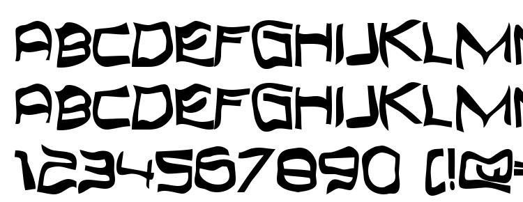 глифы шрифта Topbond, символы шрифта Topbond, символьная карта шрифта Topbond, предварительный просмотр шрифта Topbond, алфавит шрифта Topbond, шрифт Topbond