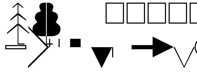glyphs Topocad font, сharacters Topocad font, symbols Topocad font, character map Topocad font, preview Topocad font, abc Topocad font, Topocad font