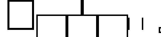 Шрифт Topocad