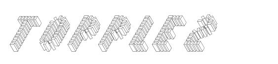 шрифт Topple2, бесплатный шрифт Topple2, предварительный просмотр шрифта Topple2