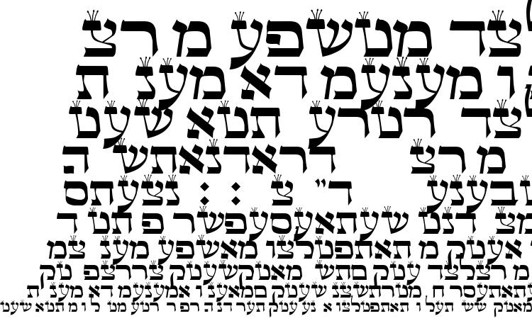 specimens Torah Sofer font, sample Torah Sofer font, an example of writing Torah Sofer font, review Torah Sofer font, preview Torah Sofer font, Torah Sofer font