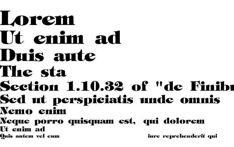 specimens Tori extrabold font, sample Tori extrabold font, an example of writing Tori extrabold font, review Tori extrabold font, preview Tori extrabold font, Tori extrabold font
