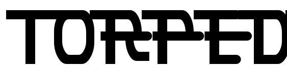 Шрифт Torpedo