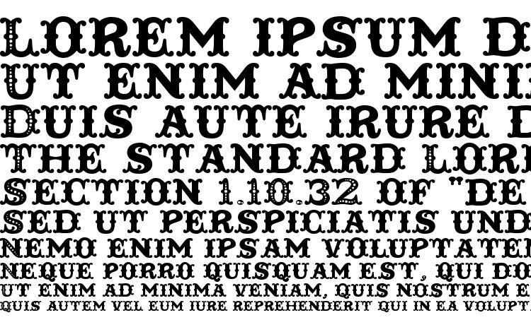 specimens Toscania font, sample Toscania font, an example of writing Toscania font, review Toscania font, preview Toscania font, Toscania font