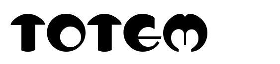 Totem font, free Totem font, preview Totem font