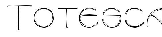 Шрифт Totescapsssk regular