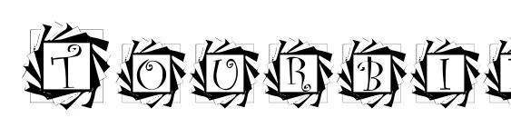 Tourbillon Font