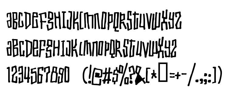 glyphs Toxic waist font, сharacters Toxic waist font, symbols Toxic waist font, character map Toxic waist font, preview Toxic waist font, abc Toxic waist font, Toxic waist font