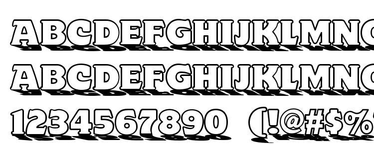 глифы шрифта Toyland NF, символы шрифта Toyland NF, символьная карта шрифта Toyland NF, предварительный просмотр шрифта Toyland NF, алфавит шрифта Toyland NF, шрифт Toyland NF