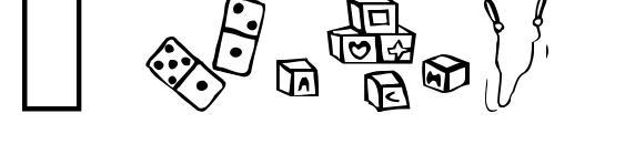 шрифт Toys, бесплатный шрифт Toys, предварительный просмотр шрифта Toys