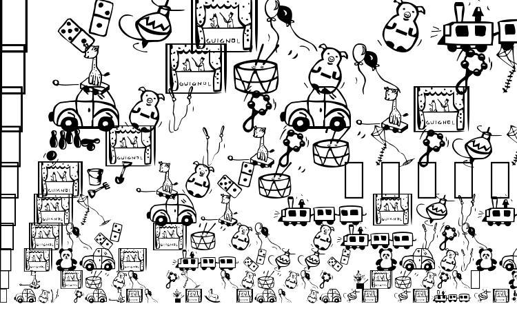 образцы шрифта Toys4u, образец шрифта Toys4u, пример написания шрифта Toys4u, просмотр шрифта Toys4u, предосмотр шрифта Toys4u, шрифт Toys4u