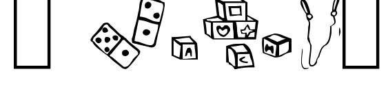 шрифт Toys4u, бесплатный шрифт Toys4u, предварительный просмотр шрифта Toys4u
