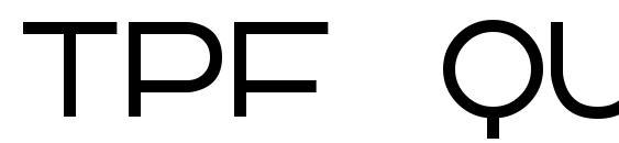 TPF Quackery Font