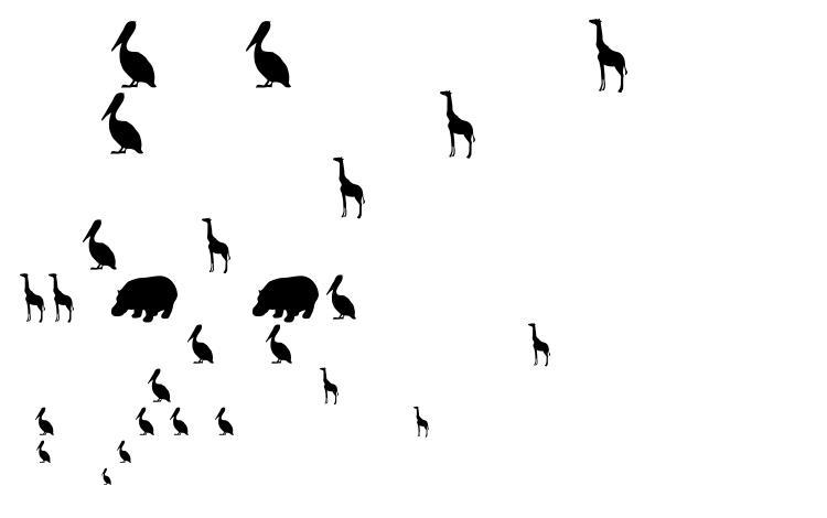 образцы шрифта Tqf animals, образец шрифта Tqf animals, пример написания шрифта Tqf animals, просмотр шрифта Tqf animals, предосмотр шрифта Tqf animals, шрифт Tqf animals