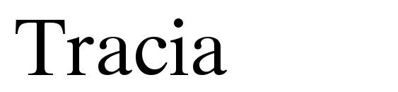 Шрифт Tracia