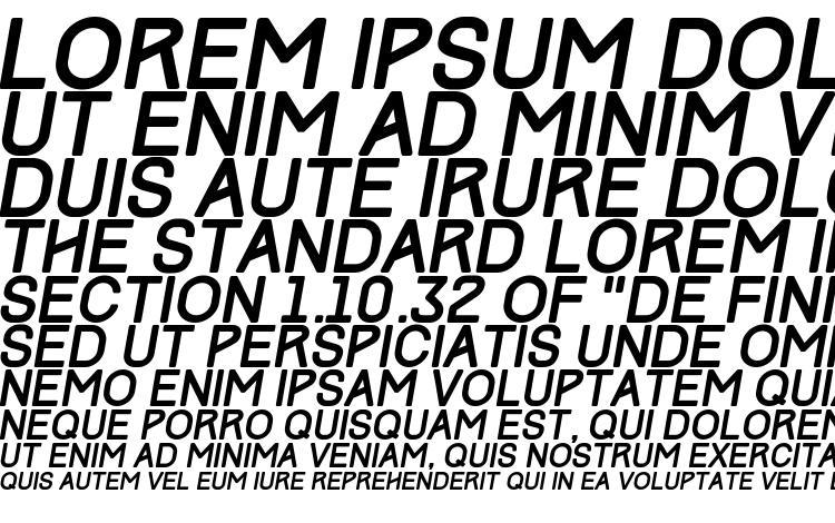 specimens Track Italic font, sample Track Italic font, an example of writing Track Italic font, review Track Italic font, preview Track Italic font, Track Italic font