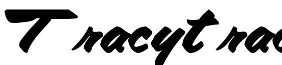 Шрифт Tracytracy68 bold