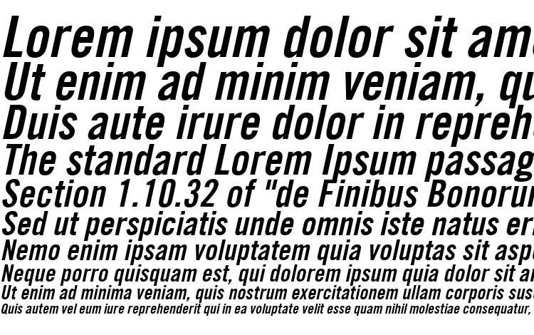 образцы шрифта Trade Gothic LT Bold Condensed No. 20 Oblique, образец шрифта Trade Gothic LT Bold Condensed No. 20 Oblique, пример написания шрифта Trade Gothic LT Bold Condensed No. 20 Oblique, просмотр шрифта Trade Gothic LT Bold Condensed No. 20 Oblique, предосмотр шрифта Trade Gothic LT Bold Condensed No. 20 Oblique, шрифт Trade Gothic LT Bold Condensed No. 20 Oblique