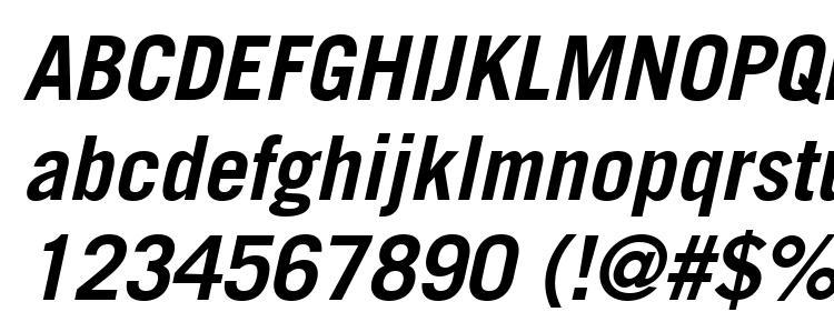 глифы шрифта Trade Gothic LT Bold Oblique, символы шрифта Trade Gothic LT Bold Oblique, символьная карта шрифта Trade Gothic LT Bold Oblique, предварительный просмотр шрифта Trade Gothic LT Bold Oblique, алфавит шрифта Trade Gothic LT Bold Oblique, шрифт Trade Gothic LT Bold Oblique
