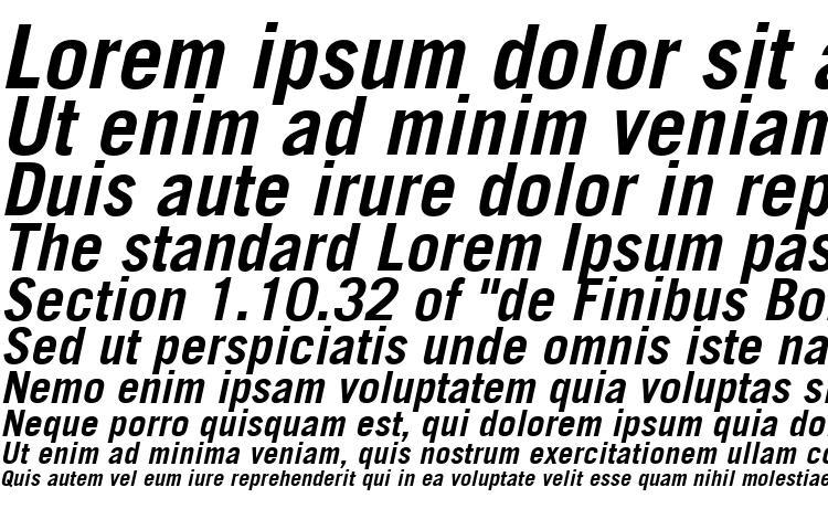 образцы шрифта Trade Gothic LT Bold Oblique, образец шрифта Trade Gothic LT Bold Oblique, пример написания шрифта Trade Gothic LT Bold Oblique, просмотр шрифта Trade Gothic LT Bold Oblique, предосмотр шрифта Trade Gothic LT Bold Oblique, шрифт Trade Gothic LT Bold Oblique