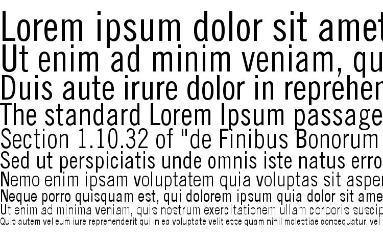 specimens Trade Gothic LT Condensed No. 18 font, sample Trade Gothic LT Condensed No. 18 font, an example of writing Trade Gothic LT Condensed No. 18 font, review Trade Gothic LT Condensed No. 18 font, preview Trade Gothic LT Condensed No. 18 font, Trade Gothic LT Condensed No. 18 font