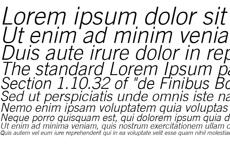 образцы шрифта Trade Gothic LT Light Oblique, образец шрифта Trade Gothic LT Light Oblique, пример написания шрифта Trade Gothic LT Light Oblique, просмотр шрифта Trade Gothic LT Light Oblique, предосмотр шрифта Trade Gothic LT Light Oblique, шрифт Trade Gothic LT Light Oblique
