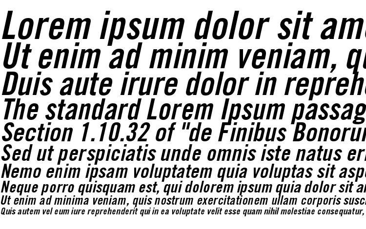specimens TradeGothicLTStd BdCn20Obl font, sample TradeGothicLTStd BdCn20Obl font, an example of writing TradeGothicLTStd BdCn20Obl font, review TradeGothicLTStd BdCn20Obl font, preview TradeGothicLTStd BdCn20Obl font, TradeGothicLTStd BdCn20Obl font
