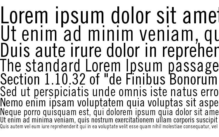 specimens TradeGothicLTStd Cn18 font, sample TradeGothicLTStd Cn18 font, an example of writing TradeGothicLTStd Cn18 font, review TradeGothicLTStd Cn18 font, preview TradeGothicLTStd Cn18 font, TradeGothicLTStd Cn18 font