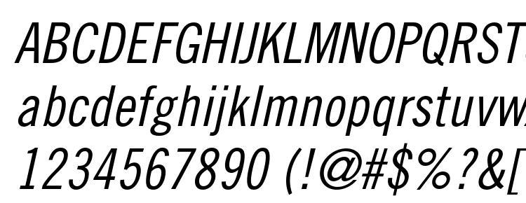 glyphs TradeGothicLTStd Cn18Obl font, сharacters TradeGothicLTStd Cn18Obl font, symbols TradeGothicLTStd Cn18Obl font, character map TradeGothicLTStd Cn18Obl font, preview TradeGothicLTStd Cn18Obl font, abc TradeGothicLTStd Cn18Obl font, TradeGothicLTStd Cn18Obl font