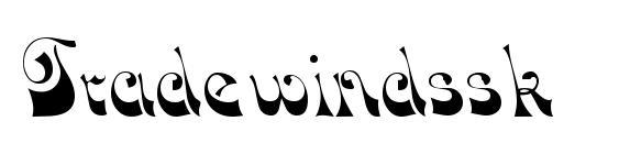 шрифт Tradewindssk, бесплатный шрифт Tradewindssk, предварительный просмотр шрифта Tradewindssk