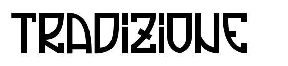 Tradizione font, free Tradizione font, preview Tradizione font