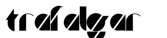 шрифт Trafalgar, бесплатный шрифт Trafalgar, предварительный просмотр шрифта Trafalgar