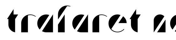Trafaret normal Font