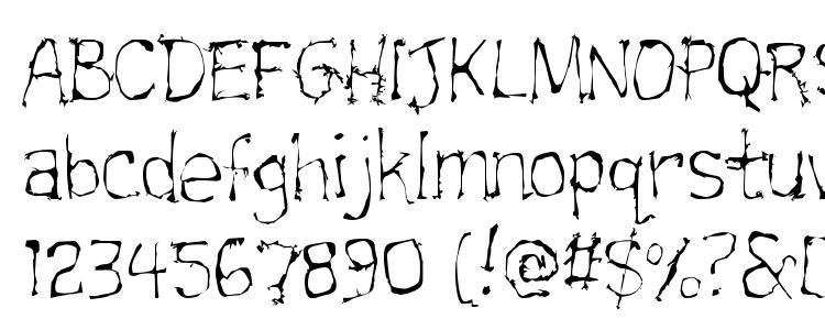 glyphs Trainwrecklite font, сharacters Trainwrecklite font, symbols Trainwrecklite font, character map Trainwrecklite font, preview Trainwrecklite font, abc Trainwrecklite font, Trainwrecklite font
